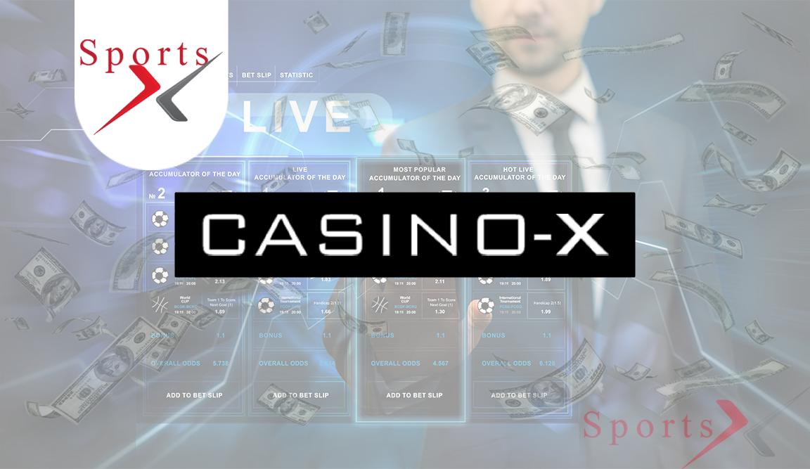 Букмекерська контора Casino-X Sports